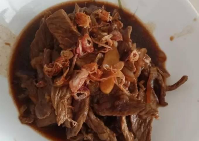 Beef slice masak kecap - projectfootsteps.org