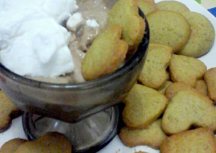 Resep Kue Jahe + ice cream, Lezat