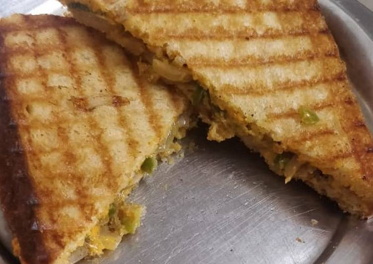 Simple Way to Prepare Favorite Veg Grill Sandwich