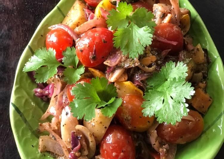 Roasted/Baked Veggies Salad 🥗💁🏻♀️😍