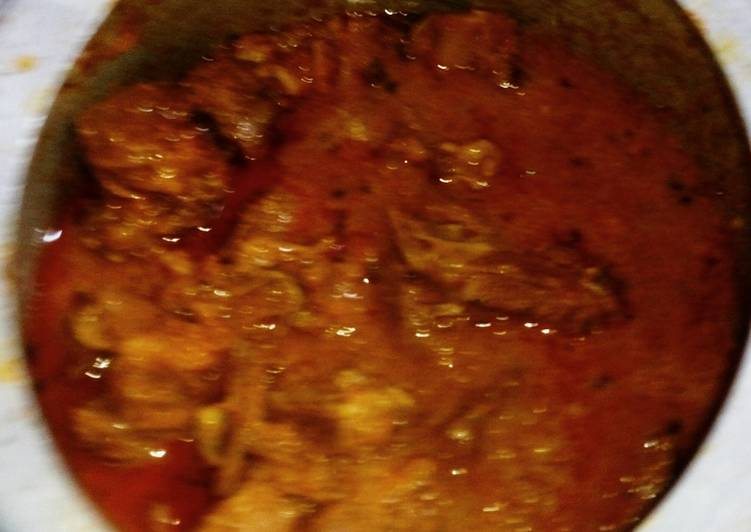 Goat Meat Curry Finding Healthy Fast Food