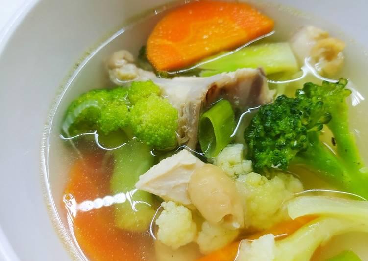 Resep 💚 Sup Ayam Brokoli~ yang Lezat Sekali