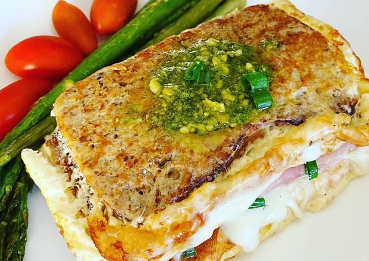 Pan en omelette