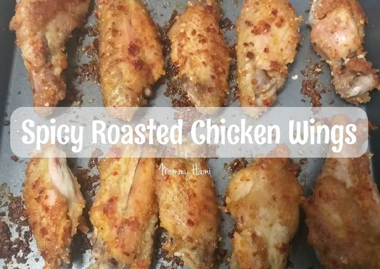Spicy Roasted Chicken Wings