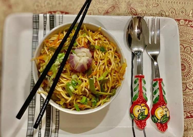 Easiest Way to Make Ultimate Hakka Noodles