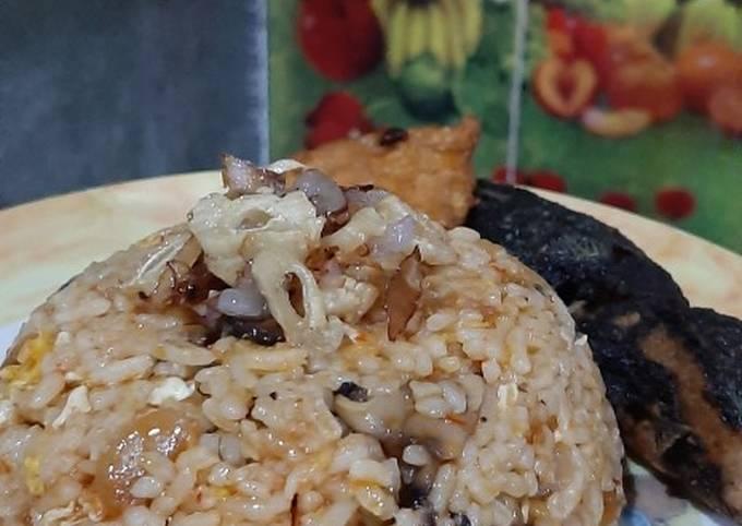 Nasi Goreng Jamur Rica