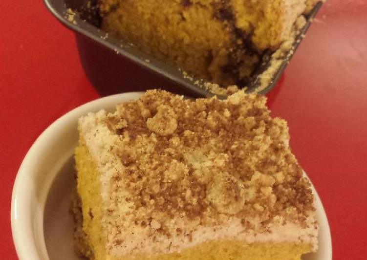 Recipe of Any-night-of-the-week Pumpkin Streusel Coffeecake