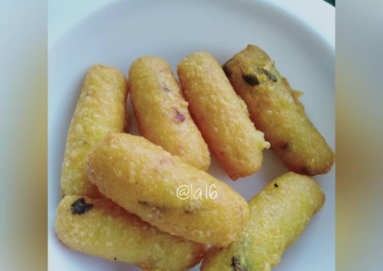 Cheese potatoes - mpasi 1thn+