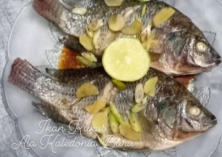 49. Ikan Kukus Ala Kaledonia Baru