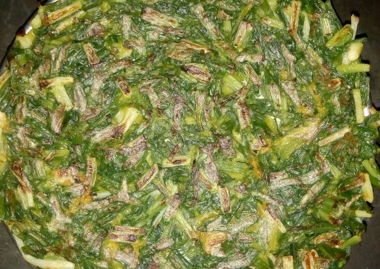 How to Prepare Ultimate Spring onion in rice starch