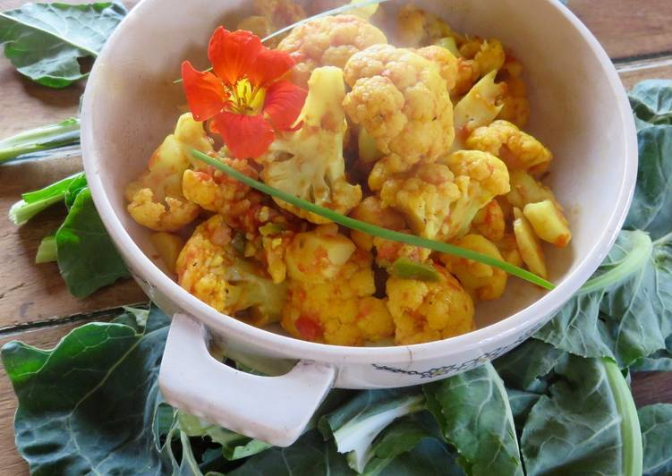 recette Curry de chou-fleur Le plus simple