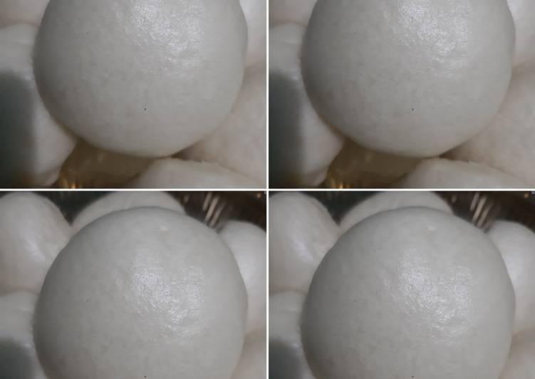 Bakpao mulus tanpa telur