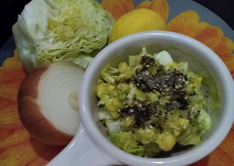 Menu Diet. Avocado Egg Salad 🥑