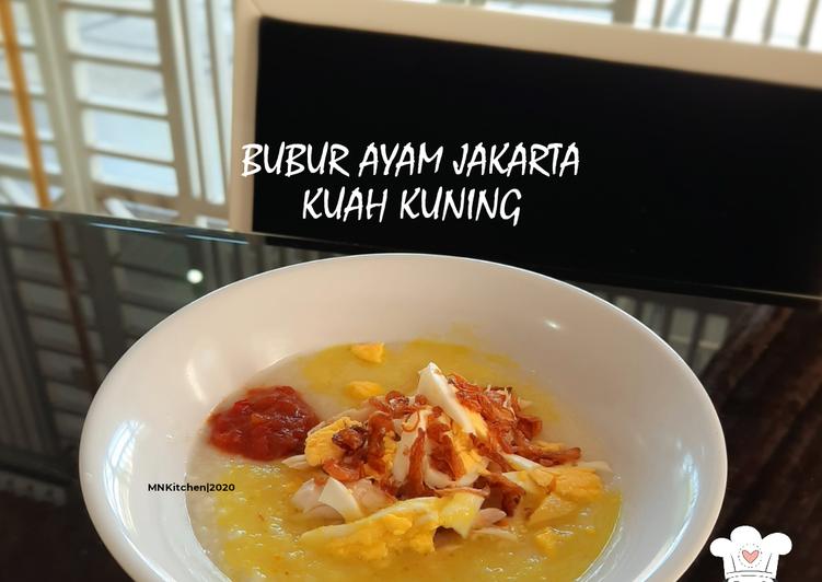 Bubur Ayam Jakarta Kuah Kuning