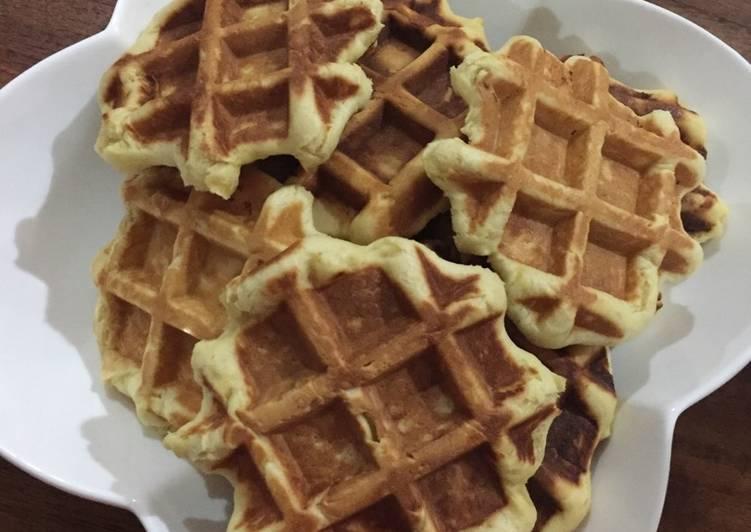 Adonan Donut Tape/Pisang berbentuk Waffle