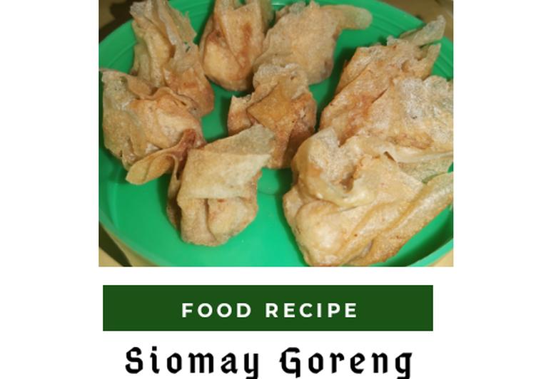 Siomay goreng