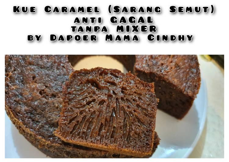 cara bikin Kue Caramel (Sarang Semut) #antiGAGAL #noMIXER #bisaOVEN/KUKUS - Sajian Dapur Bunda