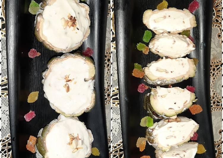 Custard Apple & Roasted Almond kulfi