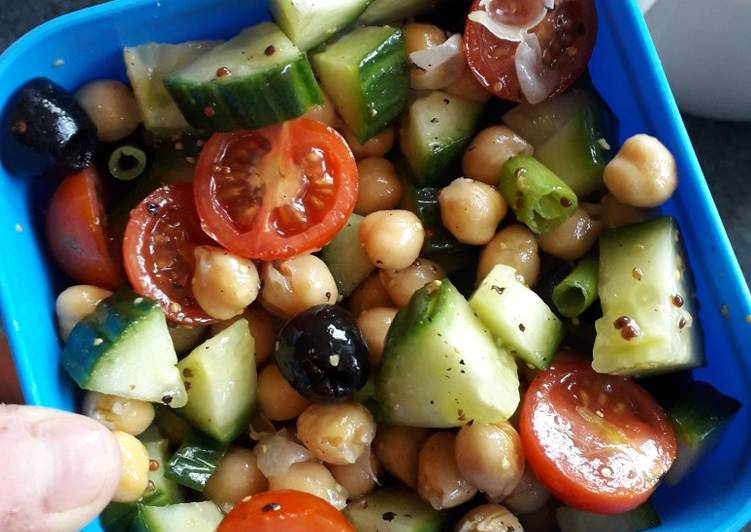 Recipe of Ultimate Chick pea salad
