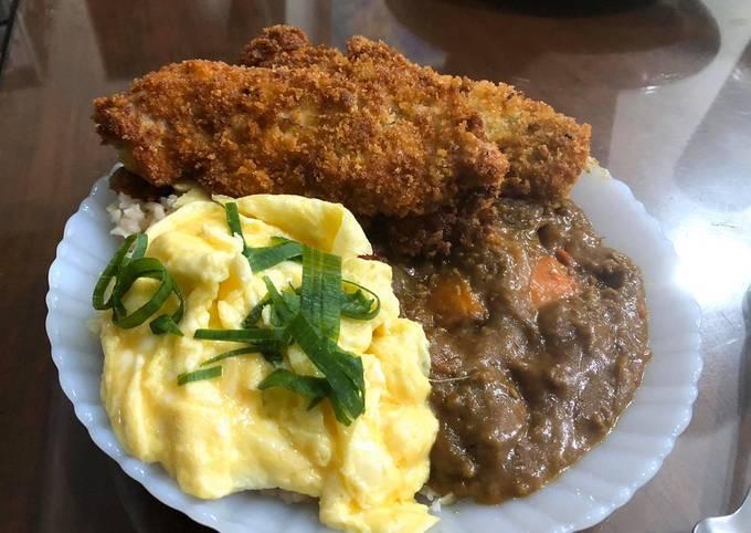 Chicken Curry Tonkatsu