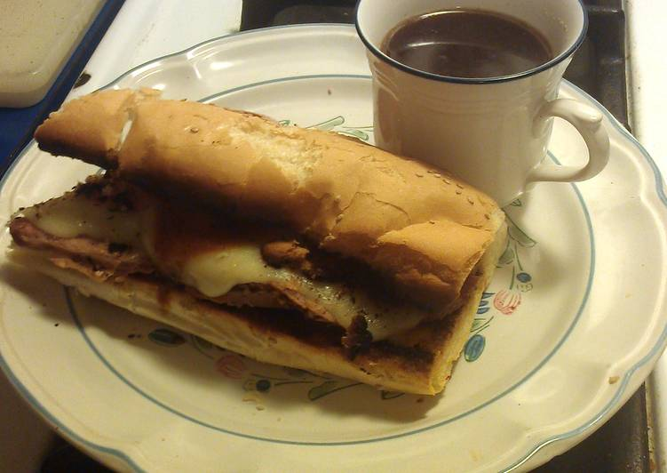 Recipe of Ultimate French dip..my way