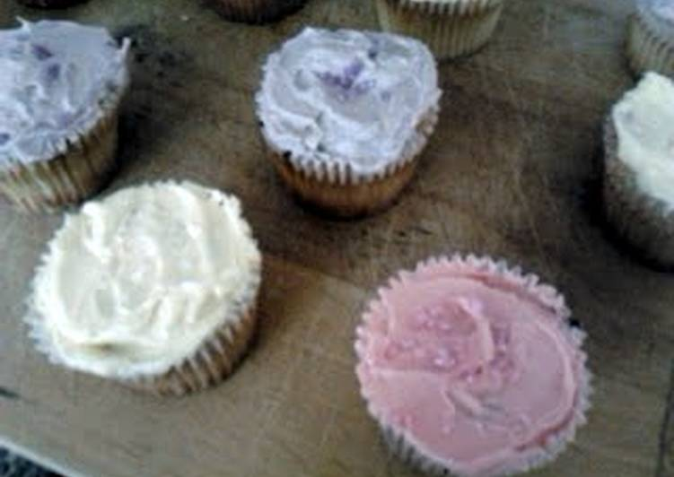 How to Cook Delicious Rose cupcakes