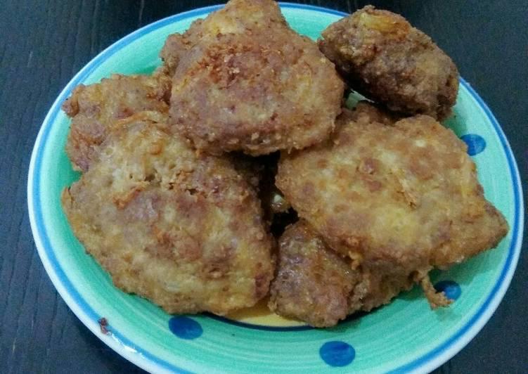 Resep Perkedel daging giling Yang Mudah Bikin Ngiler