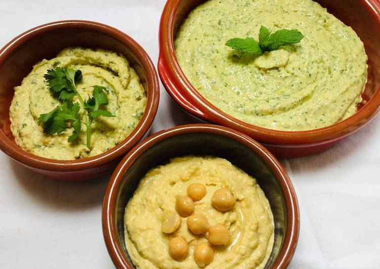 Steps to Prepare Super Quick Homemade Herby Hummus