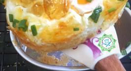 Hình ảnh món Bánh mỳ trứng Hàn Quốc cho bữa sáng nhanh, gọn!KOREAN EGG BREAD (GYERAN-BBANG)