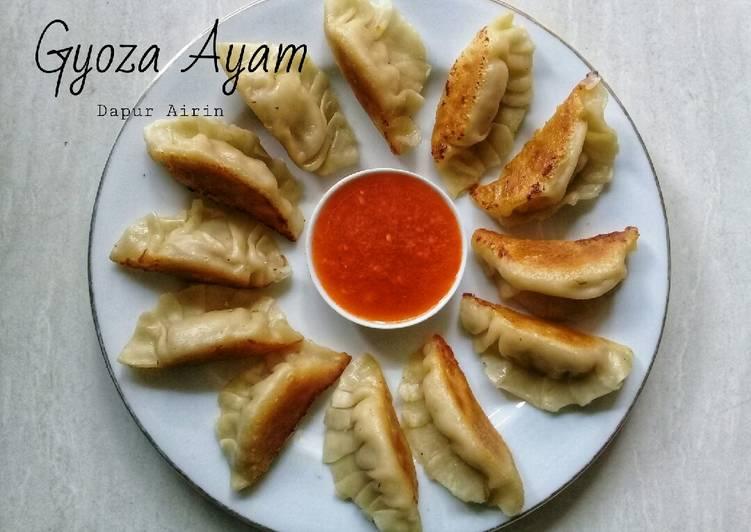 Resep Gyoza Ayam Oleh Dapur Airin Cookpad