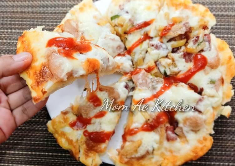 Pizza Beef Kentang (Pizza Teflon)