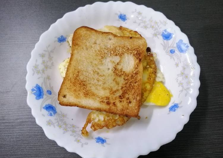Easiest Way to Make Yummy Egg Sandwich