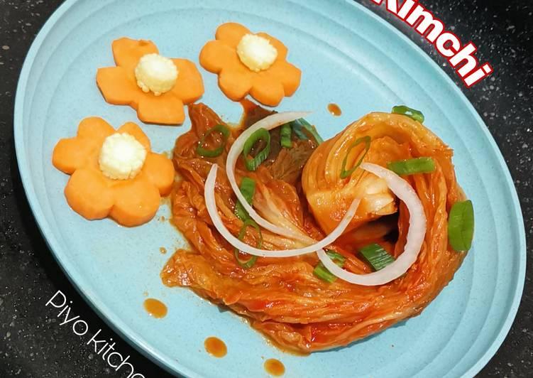 Kimchi sawi putih (tanpa bubur tepung)