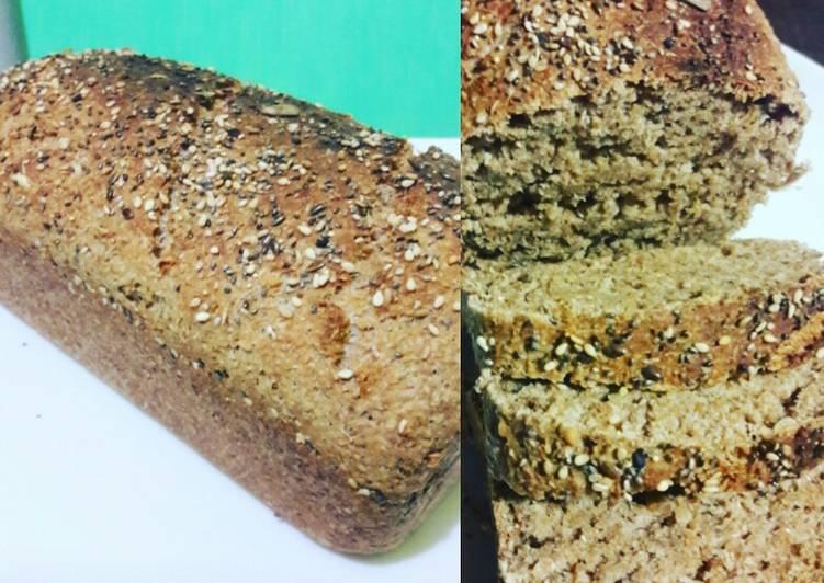 como hacer pan de harina integral y salvado