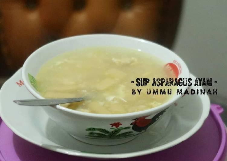 Sup Asparagus Ayam