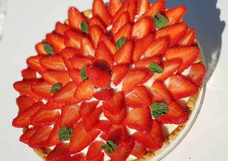 recette Tarte aux fraises délicieux