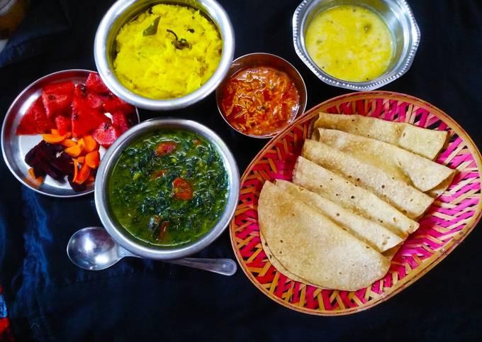 How to Prepare Perfect Healthy Gujarati Lunch
