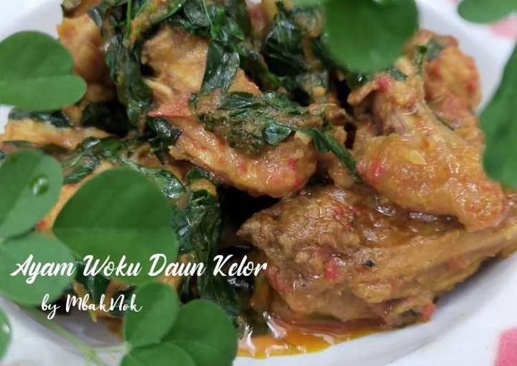 Ayam Woku Daun Kelor