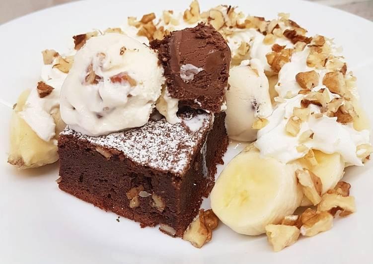 Brownie au Nutella et aux noix