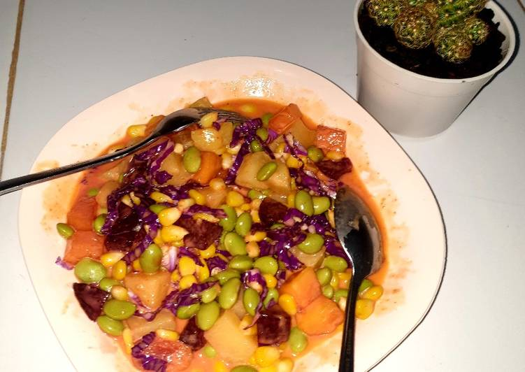Salad Edamame en bit