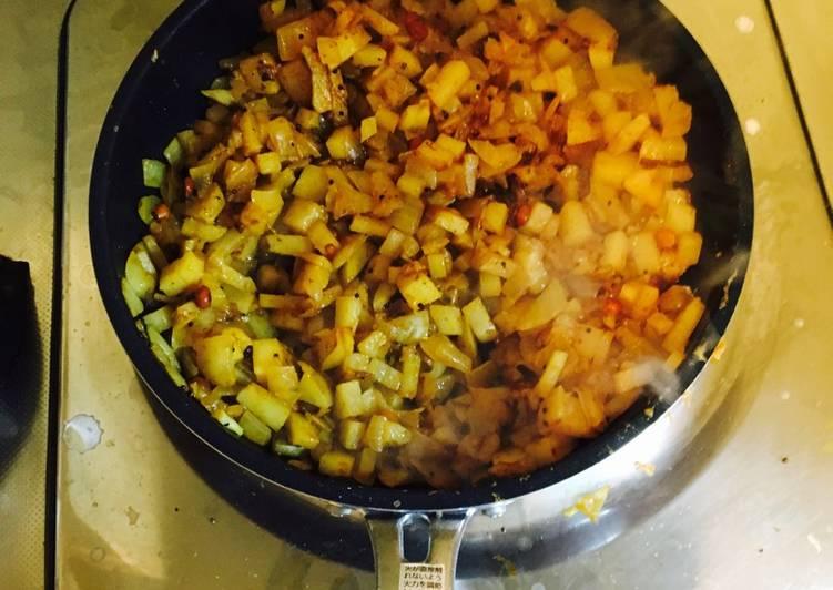 Aloo Curry (Potato fry)