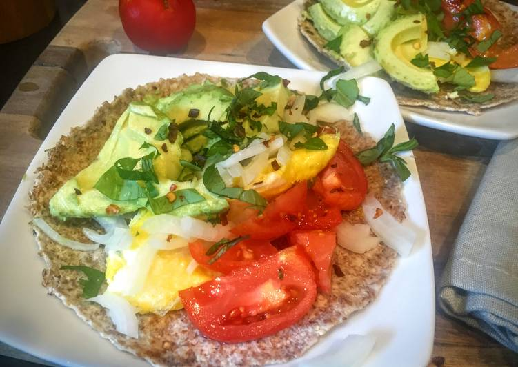 Getting tired of avocado toast? How about an avocado taco for breakfast?! :)