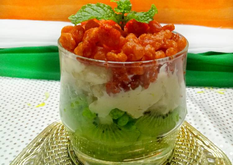 Your Health Can Be Impacted By The Foods You Choose To Consume Tri colour parfait