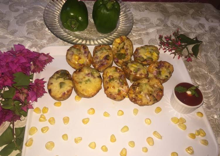 Mini Aloo Pizza