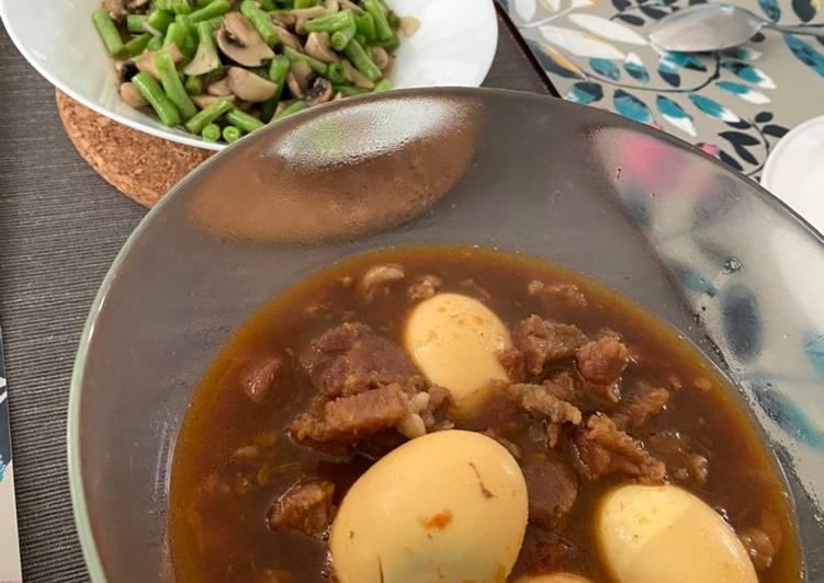 Semur Daging Telur (Resep Simple)