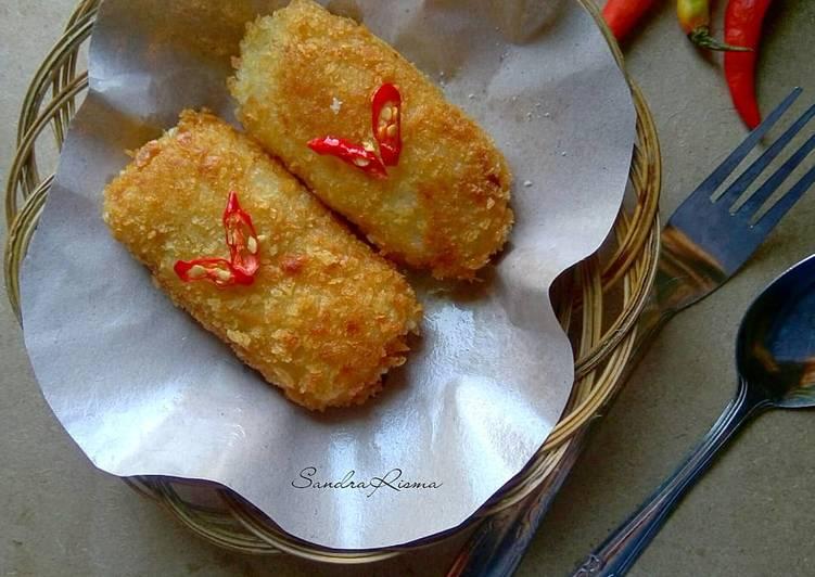 Lemper Goreng isi Ayam