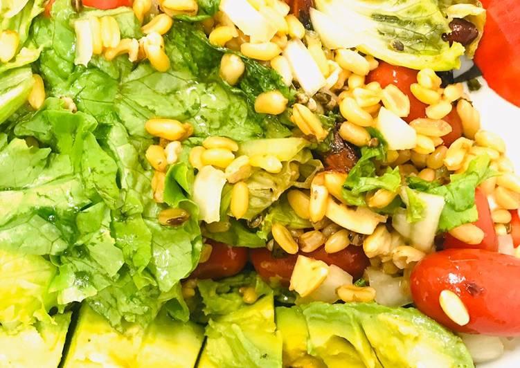 Salade de kamut
