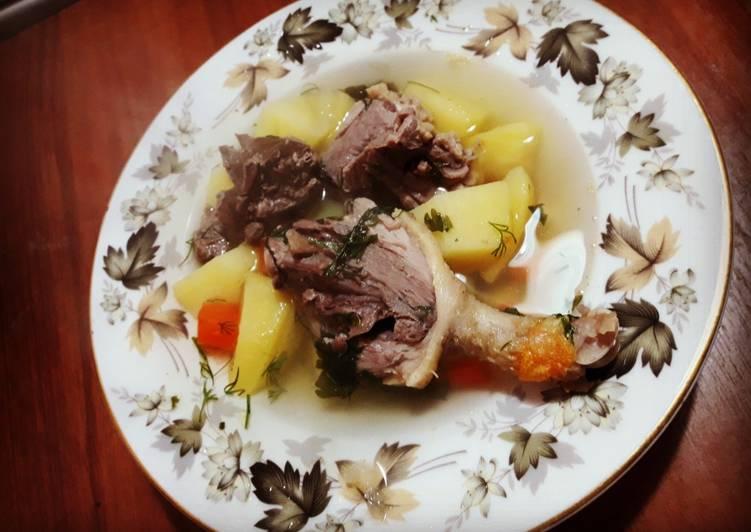 Первое из утки рецепты с фото