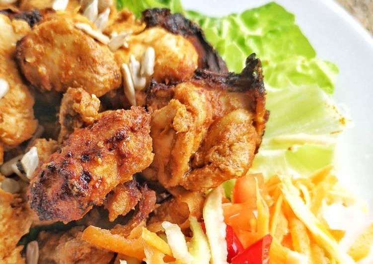 Chicken Curry Satay