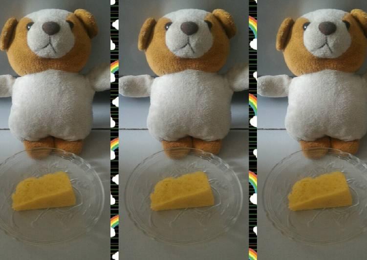 cara mengolah Bolu Keju Kukus Jerman tanpa mixer #BikinRamadanBerkesan - Sajian Dapur Bunda